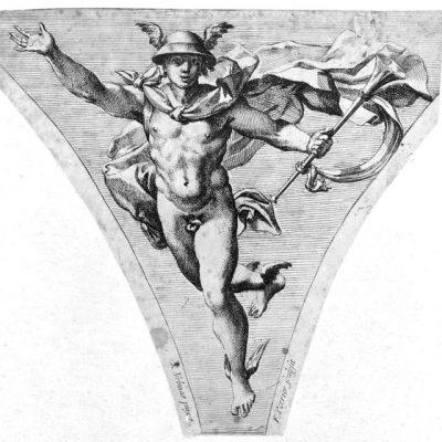 Gravure de François Perrier, d'après Raphaël, c. 1625-1645