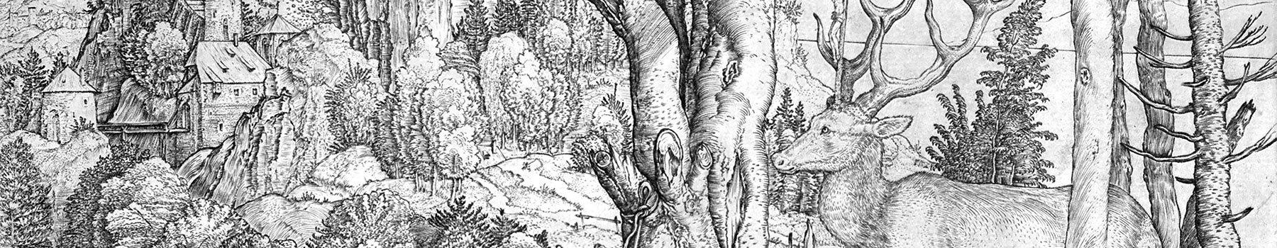 Albrecht Dürer - Saint Eustache.
