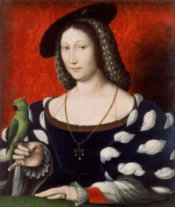 Jean Clouet Attributed   Portrait of Marguerite of Navarre   Google Art Project